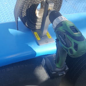Strap King-Strap Roller , Trailer Tool for Race Trailers